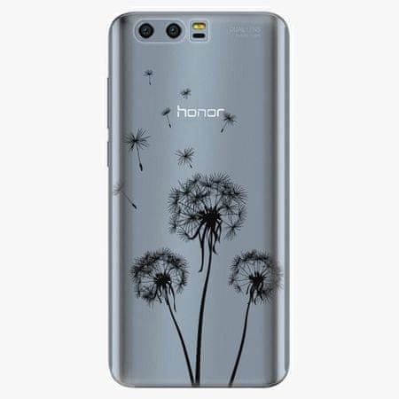 iSaprio Plastový kryt - Three Dandelions - black - Huawei Honor 9