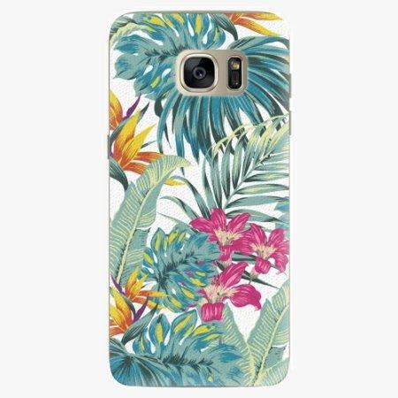 iSaprio Silikonové pouzdro - Tropical White 03 - Samsung Galaxy S7 Edge