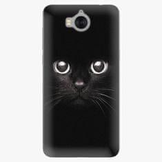 iSaprio Plastový kryt - Black Cat - Huawei Y5 2017 / Y6 2017