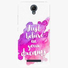 iSaprio Plastový kryt - Believe - Xiaomi Redmi Note 2