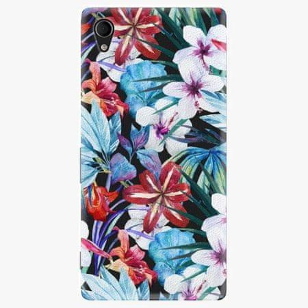 iSaprio Plastový kryt - Tropical Flowers 05 - Sony Xperia M4