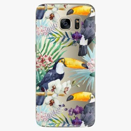 iSaprio Plastový kryt - Tucan Pattern 01 - Samsung Galaxy S7 Edge
