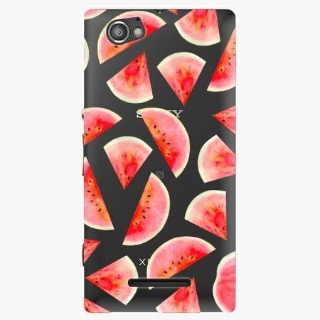iSaprio Plastový kryt - Melon Pattern 02 - Sony Xperia M