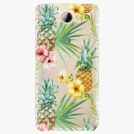 iSaprio Plastový kryt - Pineapple Pattern 02 - Huawei Y5 II / Y6 II Compact