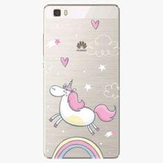 iSaprio Silikonové pouzdro - Unicorn 01 - Huawei Ascend P8 Lite