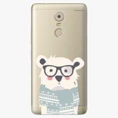 iSaprio Plastový kryt - Bear with Scarf - Lenovo K6 Note