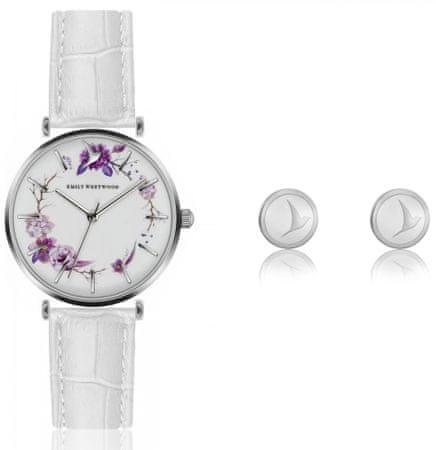Emily Westwood EWS029 komplet ženskog ručnog sata i naušnica