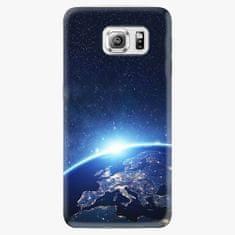 iSaprio Plastový kryt - Earth at Night - Samsung Galaxy S6 Edge Plus