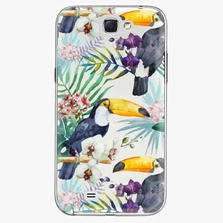 iSaprio Plastový kryt - Tucan Pattern 01 - Samsung Galaxy Note 2
