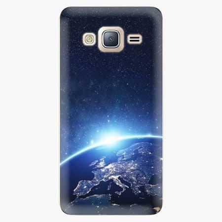 iSaprio Silikonové pouzdro - Earth at Night - Samsung Galaxy J3