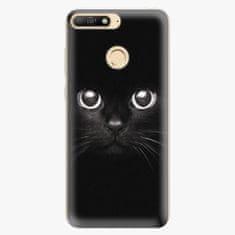 iSaprio Silikonové pouzdro - Black Cat - Huawei Y6 Prime 2018