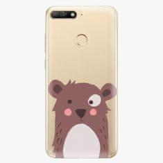iSaprio Plastový kryt - Brown Bear - Huawei Y6 Prime 2018