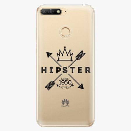 iSaprio Silikonové pouzdro - Hipster Style 02 - Huawei Y6 Prime 2018