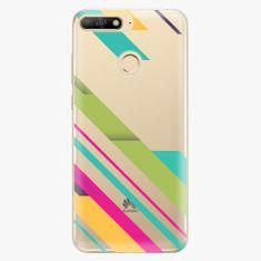 iSaprio Plastový kryt - Color Stripes 03 - Huawei Y6 Prime 2018