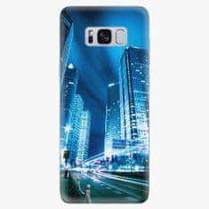 iSaprio Silikonové pouzdro - Night City Blue - Samsung Galaxy S8