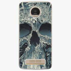 iSaprio Plastový kryt - Abstract Skull - Lenovo Moto Z Play