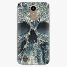 iSaprio Plastový kryt - Abstract Skull - LG K10 2017