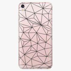 iSaprio Plastový kryt - Abstract Triangles 03 - black - Asus ZenFone Live ZB501KL