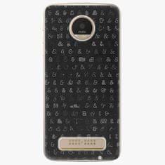 iSaprio Plastový kryt - Ampersand 01 - Lenovo Moto Z Play