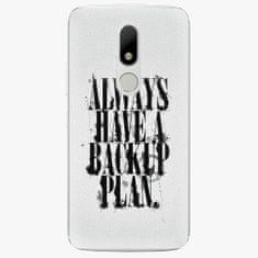 iSaprio Plastový kryt - Backup Plan - Lenovo Moto M