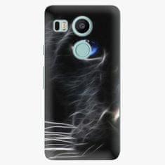 iSaprio Plastový kryt - Black Puma - LG Nexus 5X