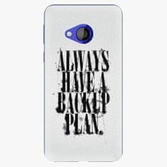 iSaprio Plastový kryt - Backup Plan - HTC U Play