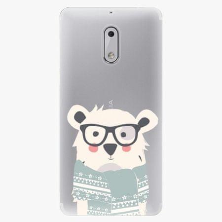 iSaprio Plastový kryt - Bear with Scarf - Nokia 6