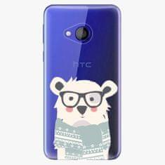 iSaprio Plastový kryt - Bear with Scarf - HTC U Play