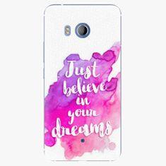iSaprio Plastový kryt - Believe - HTC U11