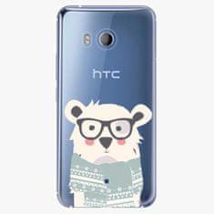 iSaprio Plastový kryt - Bear with Scarf - HTC U11