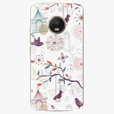 iSaprio Plastový kryt - Birds - Lenovo Moto G5 Plus