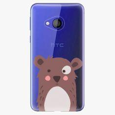 iSaprio Plastový kryt - Brown Bear - HTC U Play