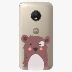 iSaprio Plastový kryt - Brown Bear - Lenovo Moto G5 Plus