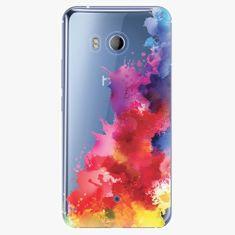 iSaprio Plastový kryt - Color Splash 01 - HTC U11