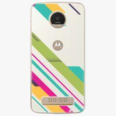 iSaprio Plastový kryt - Color Stripes 03 - Lenovo Moto Z Play