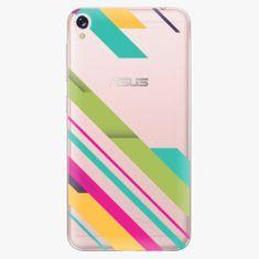 iSaprio Plastový kryt - Color Stripes 03 - Asus ZenFone Live ZB501KL