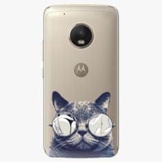 iSaprio Plastový kryt - Crazy Cat 01 - Lenovo Moto G5 Plus