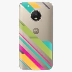 iSaprio Plastový kryt - Color Stripes 03 - Lenovo Moto G5 Plus