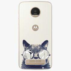 iSaprio Plastový kryt - Crazy Cat 01 - Lenovo Moto Z Play