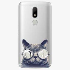 iSaprio Plastový kryt - Crazy Cat 01 - Lenovo Moto M