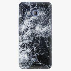 iSaprio Plastový kryt - Cracked - HTC U11