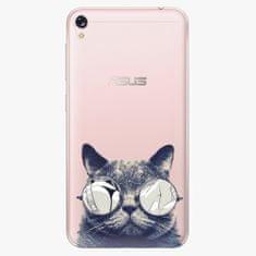 iSaprio Plastový kryt - Crazy Cat 01 - Asus ZenFone Live ZB501KL