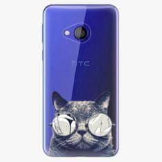 iSaprio Plastový kryt - Crazy Cat 01 - HTC U Play