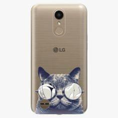 iSaprio Plastový kryt - Crazy Cat 01 - LG K10 2017