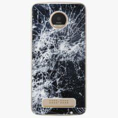 iSaprio Plastový kryt - Cracked - Lenovo Moto Z Play