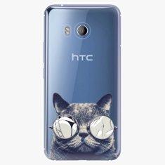 iSaprio Plastový kryt - Crazy Cat 01 - HTC U11