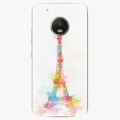 iSaprio Plastový kryt - Eiffel Tower - Lenovo Moto G5 Plus