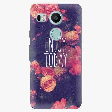 iSaprio Plastový kryt - Enjoy Today - LG Nexus 5X