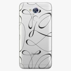 iSaprio Plastový kryt - Fancy - black - Huawei Honor 6A