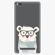 iSaprio Plastový kryt - Bear with Scarf - Xiaomi Mi4C